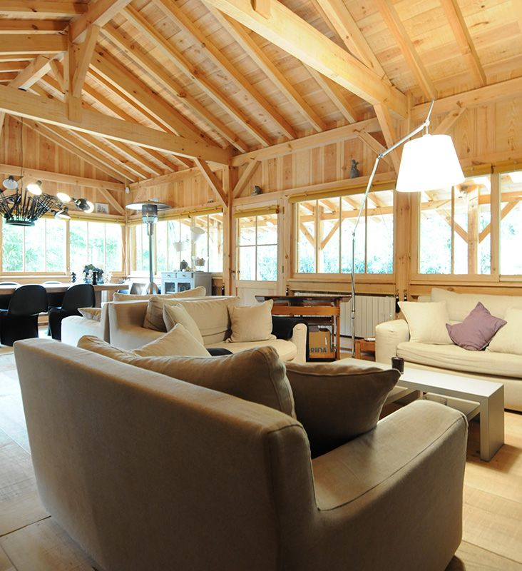 Maison en bois au Cap Ferret  Chalet  Pinterest