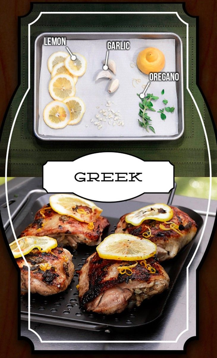 Greek chicken thighs - so good | Savory | Pinterest