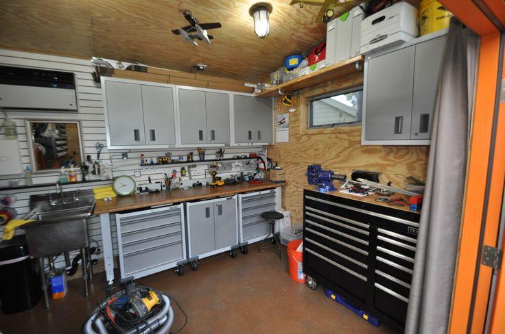 Hobby Garage diy cave shed shed plans hip roof