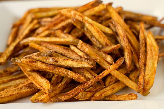Homemade French Fries | yum! | Pinterest
