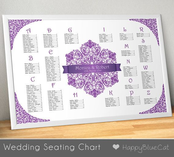 Sample Chart Templates reception seating chart template : Wedding Seating Chart, Wedding Seating, Reception Template ...