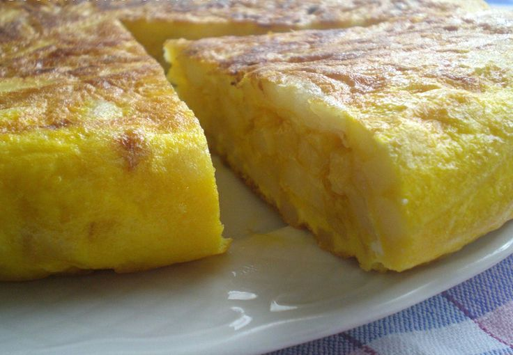 Spanish Potato Omelette. | Appetizers & Tapas | Pinterest