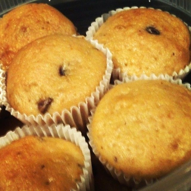 Chocolate Chips Mini Corn Muffins   Bacho's CupCakes/Cakes   Pinterest