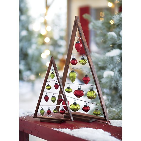 Christmas Tree Ornaments Picture Frames : Small a frame ornament tree