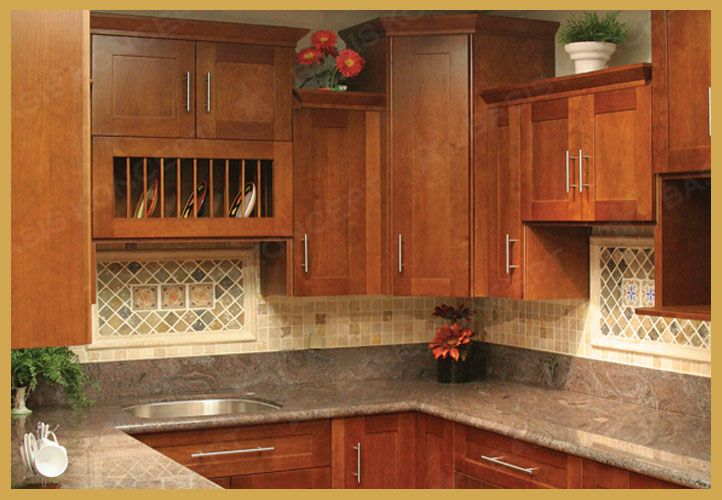 Shaker Style Cabinets Decorating My Home Pinterest - shaker cherry kitchen cabinet designs