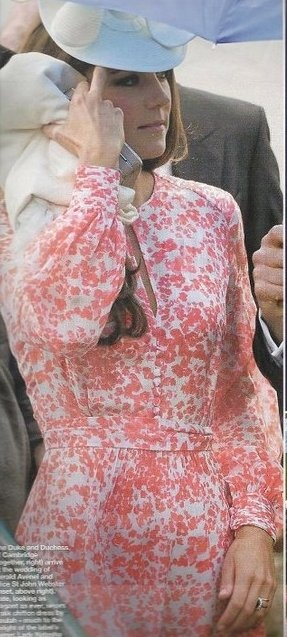Kate Middleton wore a Beulah London. 'Blossom Dress'