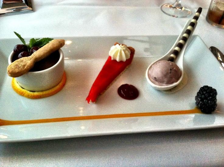 ... de creme, hibiscus and lemon tart, and acai cacao nib gelato. so good