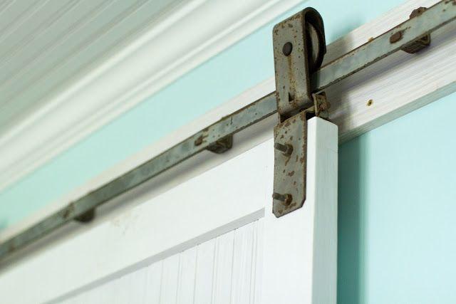 Stanley barn door hardware in box rail
