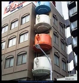 Balconies in Japan