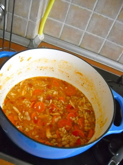 Italian Chicken Soup | I could cook this here | Pinterest