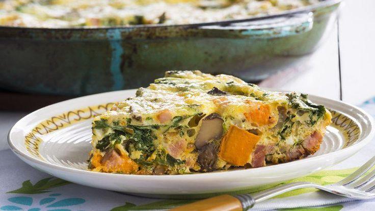 Sweet Potato and Kale Frittata | Recipe
