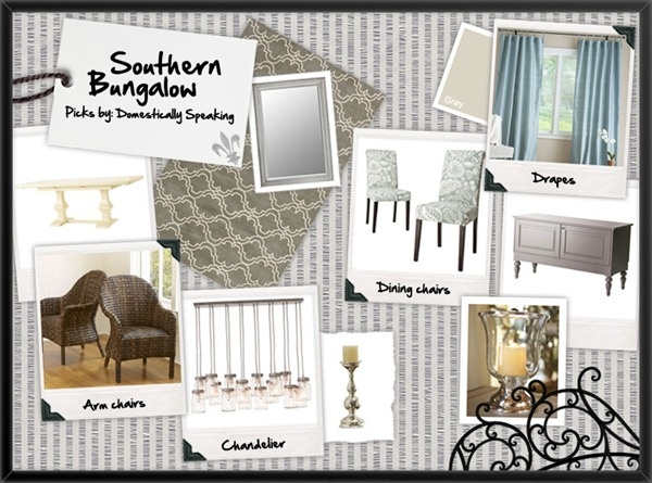 southern bungalow dining room