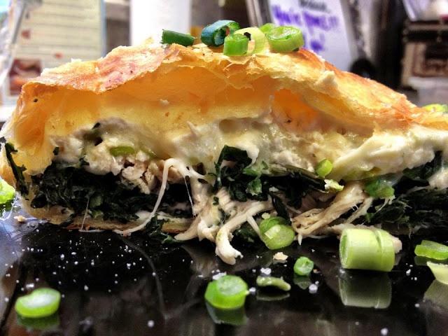 Greek Spinach Feta Chicken Pockets | Recipies to Try | Pinterest