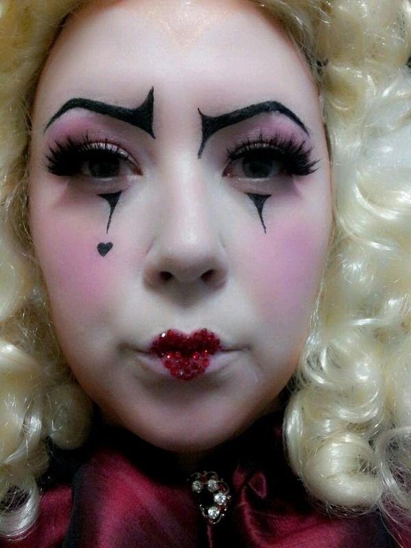harlequin makeup makeup vidalondon. Black Bedroom Furniture Sets. Home Design Ideas