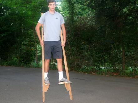 How to Make Beginner Stilts photo