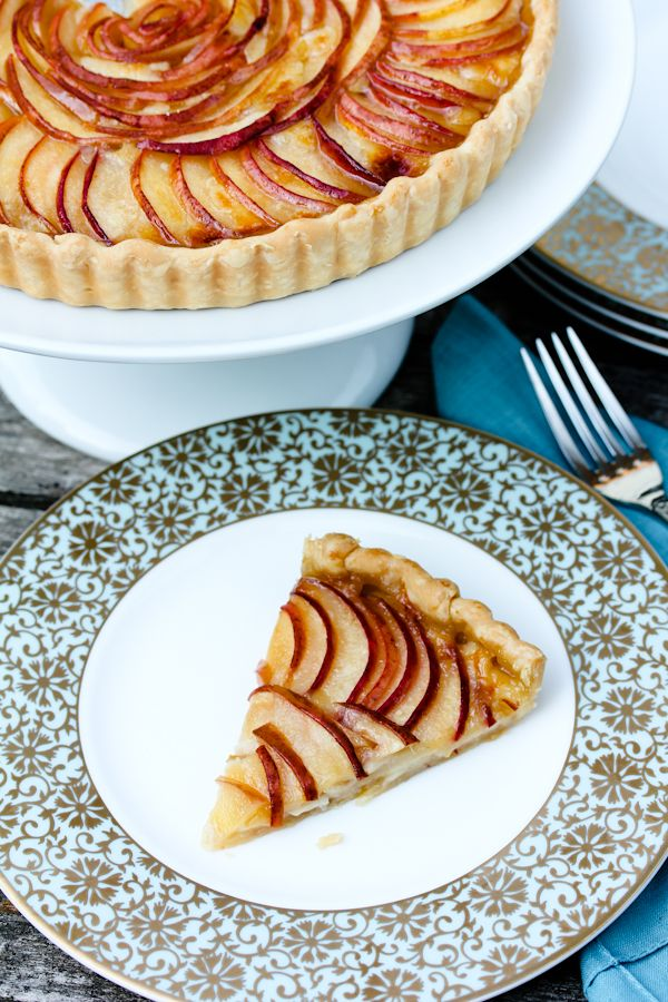 Brie and Pear Tart ~ Ile De France Cheese Giveaway | A Spicy ...