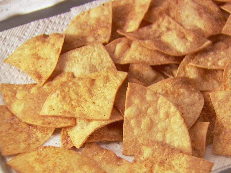 Barefoot Contessa's Chili Tortilla Chips from FoodNetwork.com. I think ...