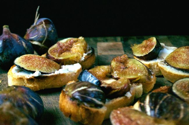 Fig & Goat Cheese Tartelettes Recipes — Dishmaps