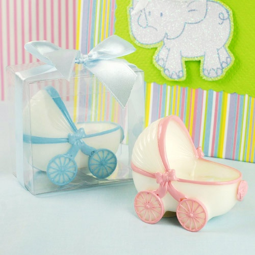 baby carriage candle baby carriage baby shower candle favors