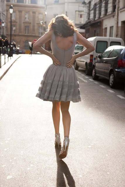 So beautiful.  Azzedine Alaia dress.