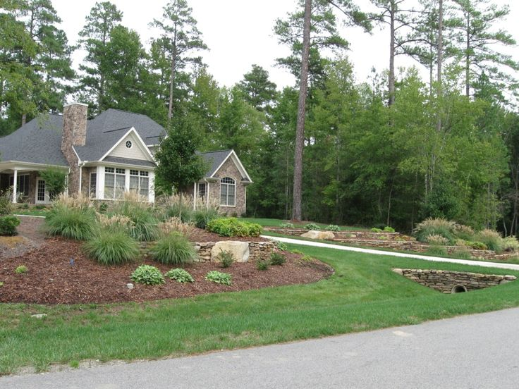 Nice Landscaping Ideas For A Sloped Front Yard Part - 13: Incredible Landscaping Ideas Simple In Front Yard Is Simple Way To Make  Your Home More Beautiful And Perfect You Must Try It House Cannot Be  Separated From ...