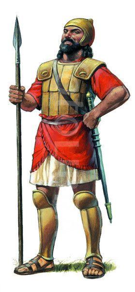 Goliath, THE GIANT - ILLUSTRATION. | S.S. Class Ideas | Pinterest
