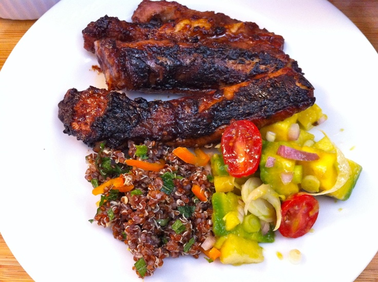 BBQ Spicy Hoisin Ribs | food | Pinterest