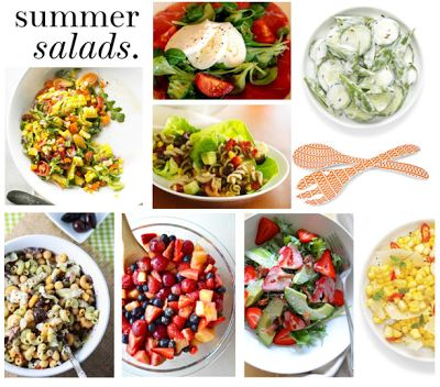 Food: Cool, Summer Salads | Heat Wave ! Cool Off Here. | Pinterest