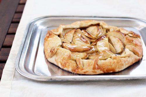 caramel apple galette | www.thisweekfordinner.com