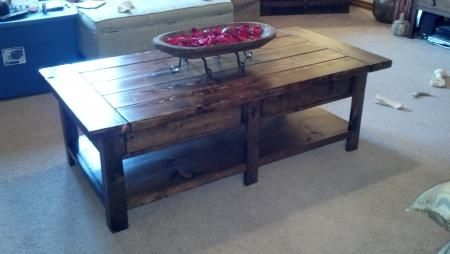 Benchwright Coffee Table Do It Yourself Home Projects From Ana White