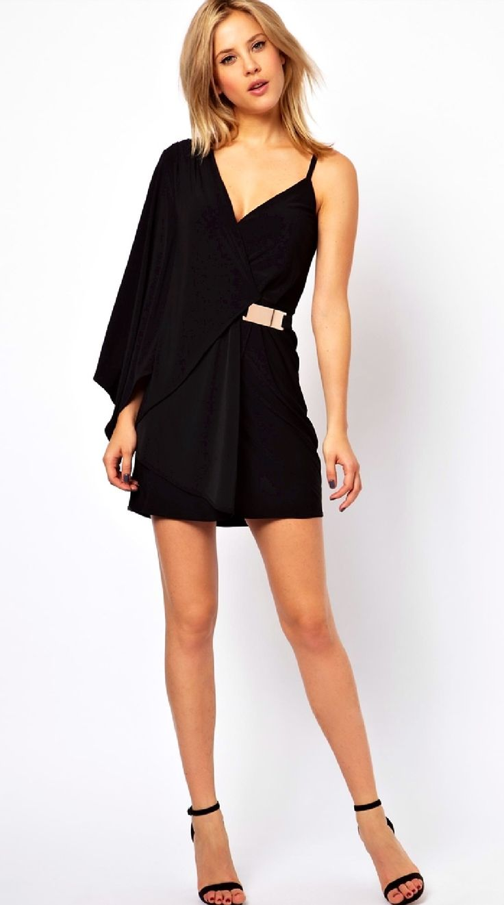 asos black dress w gold belt wardrobe