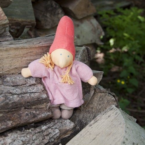 Mama Gnome Waldorf Doll. Handmade in Germany. $39.95