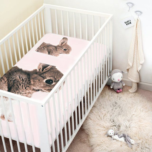 Cute Bunny Crib Duvet for your LO. | Baby Needs and Stuffs ...