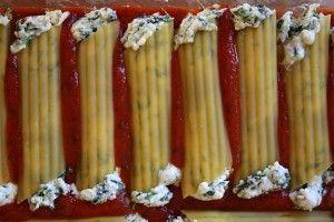 Spinach & Cheese Stuffed Manicotti | Recipe