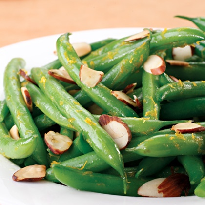 Orange Scented Green Beans with Almonds | St. Patrick's Day | Pintere ...