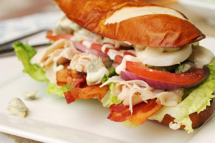 Turkey Cobb Salad Sandwich | food | Pinterest