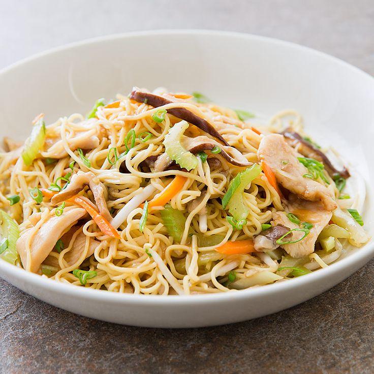 chicken lo mein | Recipes to try | Pinterest