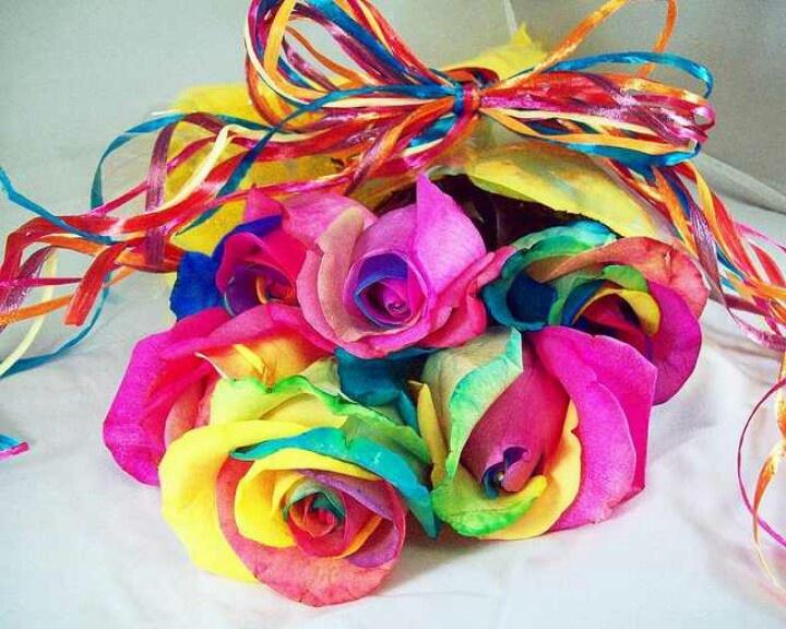 tye dye flowers jenny pinterest