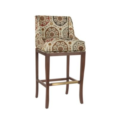 Fabric Covered Counter Bar Stool Furniture I Love