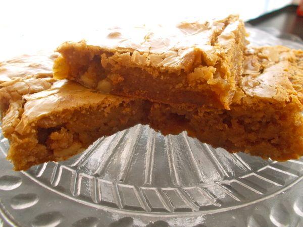 Butter Caramel Walnut Bars | Favorite Recipes | Pinterest
