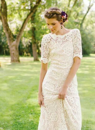 Ivy & Aster wedding dress from WellWed magazine
