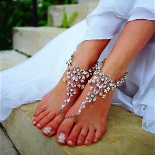 pretty beach feet