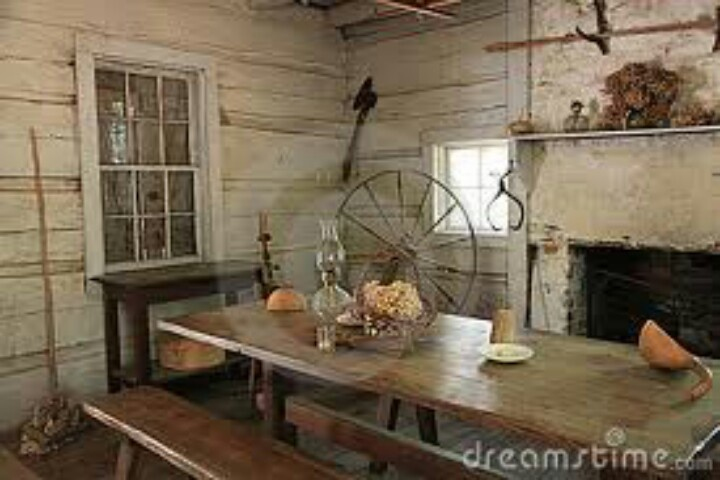 Rustic Early American Kitchen Design