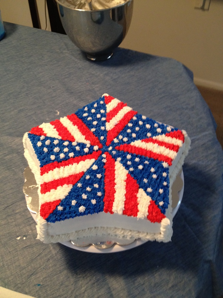Cake Decorating Ideas For Labor Day : Labor Day cake FOOD & DRINK Pinterest