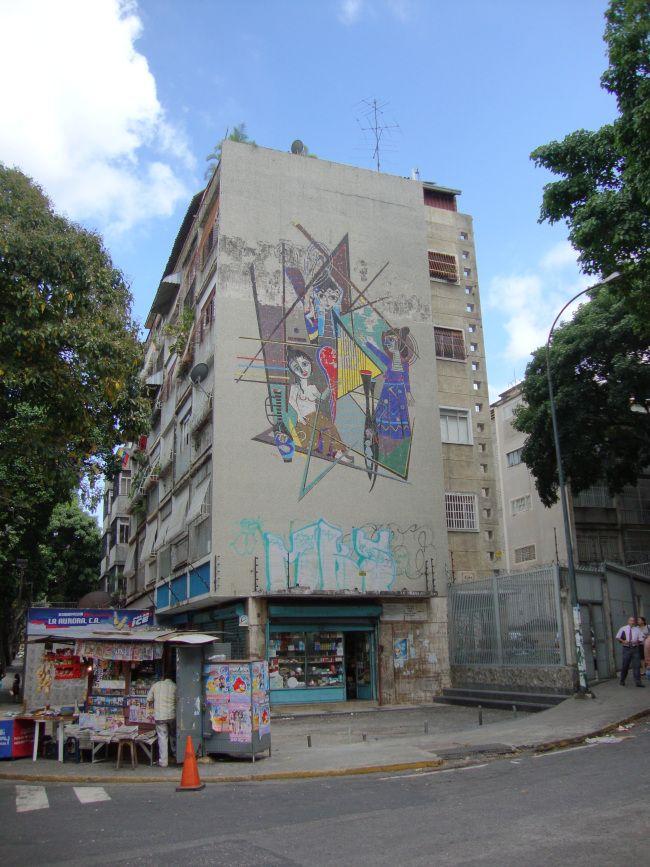 Caracas, EDIF. ROEN. Av. José Félix Ribas con calle Paraíso. San Bernardino.1950.