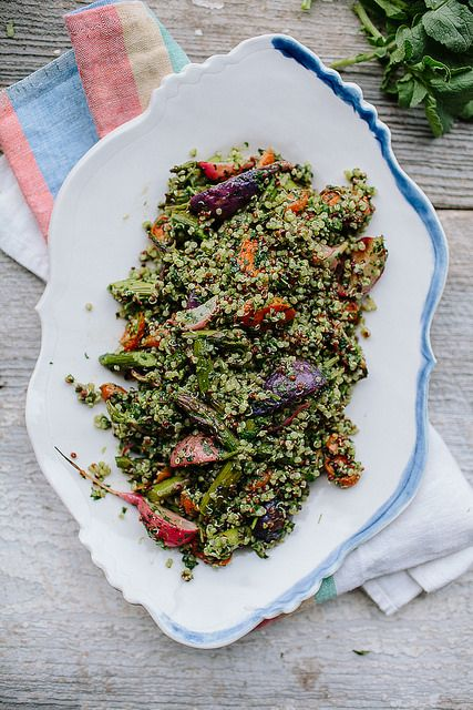 Spring Tabbouleh with Green Harissa by continental drift, via Flickr