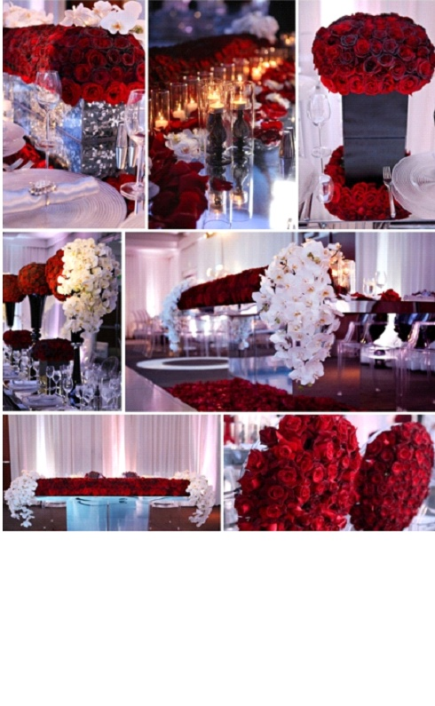 elegant valentine's day table decorations