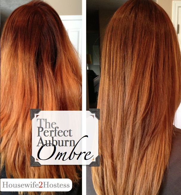 auburn ombre best hair color chelsey like pinterest