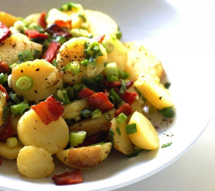 Potato Salad With Horseradish Recipe | Salads shmalads | Pinterest