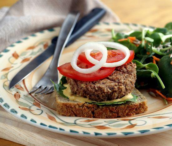 Meaty Eggplant Burgers--vegan, gluten-free, soy-free, whole foods ...
